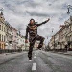 Kelvin Grant jumping
